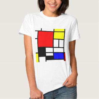 Los rectángulos del MOSAICO ajustan colorearon I + Camisas