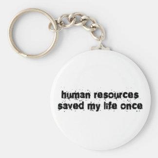 Los recursos humanos ahorraron mi vida una vez llavero