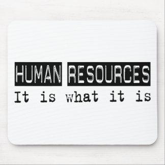 Los recursos humanos es alfombrillas de ratón