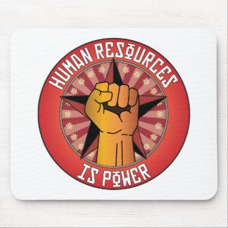 Los recursos humanos son poder alfombrilla de ratones