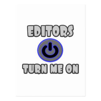 Los redactores me giran postales
