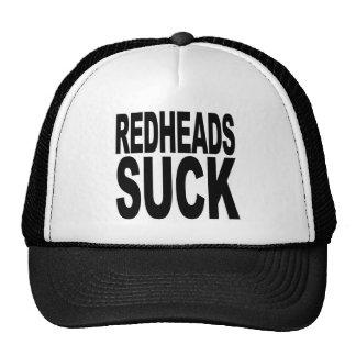 Los Redheads chupan Gorros
