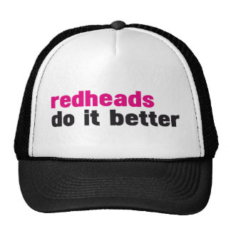 Los Redheads mejora Gorros Bordados