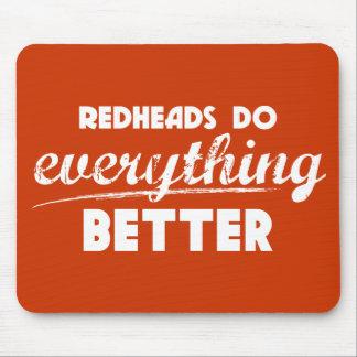 Los Redheads son un mejor Mousepad