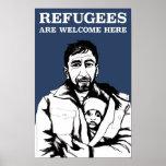 Los refugiados acogen con satisfacción el poster