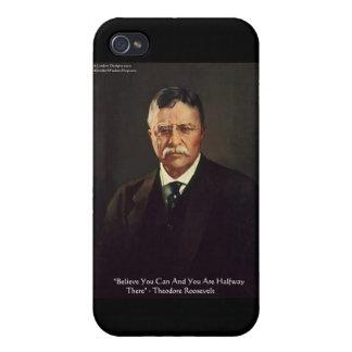 Los regalos de la cita del uno mismo de Teddy Roos iPhone 4 Cárcasa