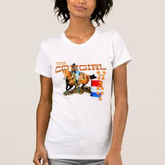 Los regalos de la manera de la vaquera t shirts
