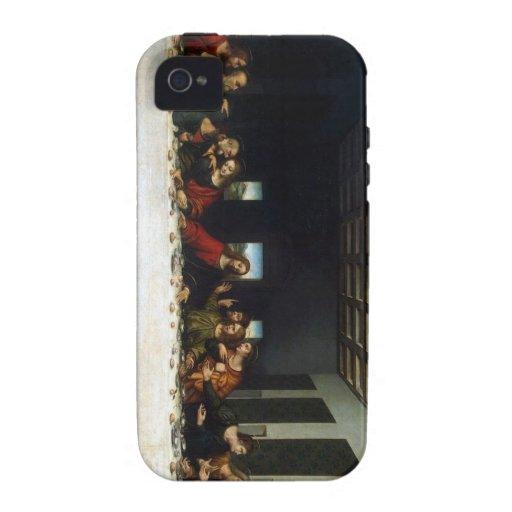 Los regalos de la última cena Case-Mate iPhone 4 fundas