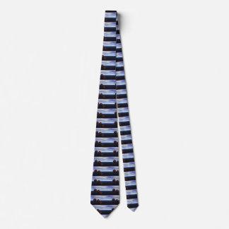 Los regalos de los hombres del lazo del arte de corbatas personalizadas