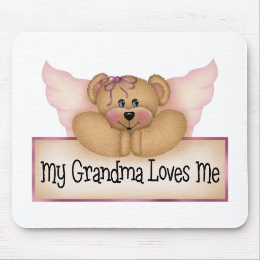 Los regalos de los niños de la abuela alfombrillas de ratón