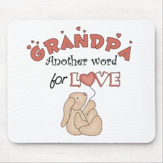 Los regalos de los niños del abuelo alfombrilla de raton