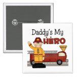 Los regalos de los niños del bombero del papá pins