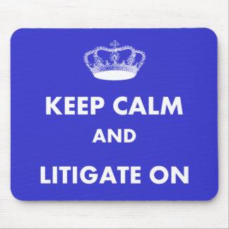 Los regalos del abogado/del estudiante de Derecho  Tapete De Raton