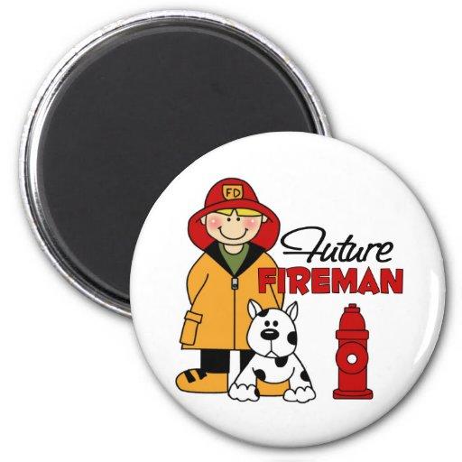 Los regalos del bombero de los niños futuros del b iman para frigorífico