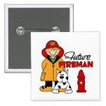 Los regalos del bombero de los niños futuros del b pins