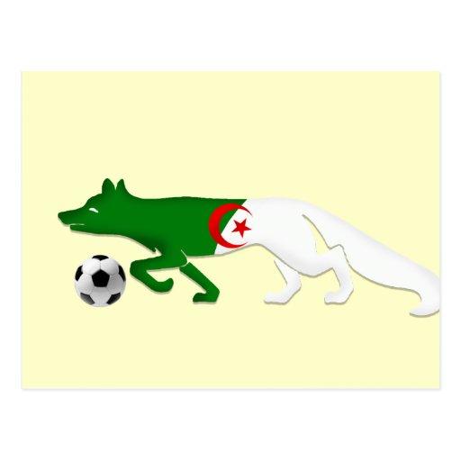 Los regalos del fútbol de Le Fennec de la bandera Postal