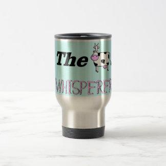 Los regalos del Whisperer de la vaca Taza De Viaje