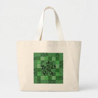 Los regalos infinitos del ARTE del verde del Bolsa De Mano