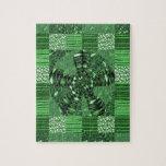 Los regalos infinitos del ARTE del verde del Rompecabeza