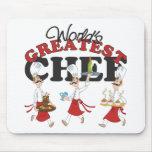 Los regalos más grandes del cocinero de los mundos tapetes de raton