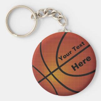 Los regalos para los llaveros del baloncesto de