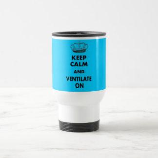 """Los regalos respiratorios de la terapia """"guardan c tazas"""
