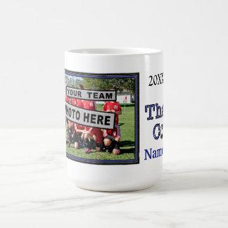 Los regalos únicos del coche del fútbol personaliz taza