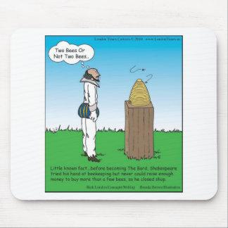 Los regalos y las camisetas divertidos del apicult alfombrilla de ratones
