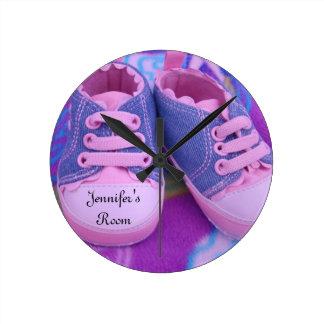 Los relojes de pared del sitio de Jennifer pican