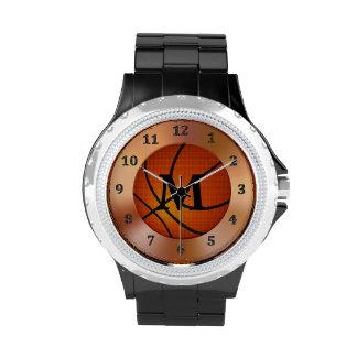Los relojes del baloncesto, monograma miran número