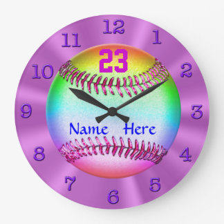 Los relojes personalizados más frescos del softbal