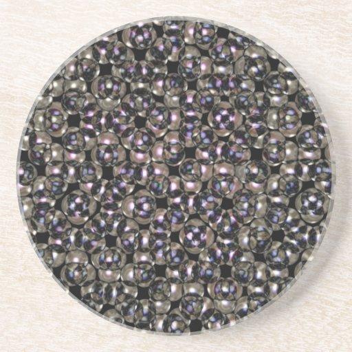 Los remaches de plata resumen por Valxart.com Posavasos Diseño
