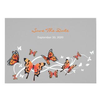 Los remolinos de la mariposa ahorran la invitación
