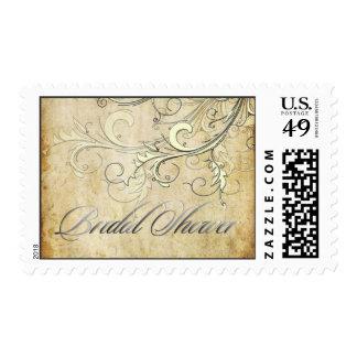 Los remolinos del vintage/le agradecen, ducha timbre postal