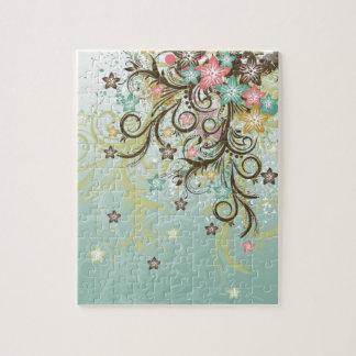 Los remolinos frescos impresionantes puntean las f puzzle con fotos