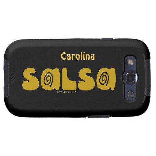 Los remolinos Samsung conocido de encargo del bail Samsung Galaxy S3 Carcasas