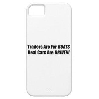 Los remolques están para los barcos que se conduce iPhone 5 Case-Mate fundas