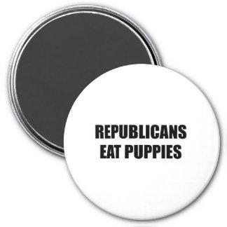 Los republicanos comen perritos imanes