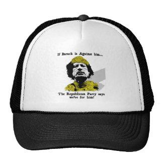 Los republicanos de Gaddafi lo aman Gorro De Camionero