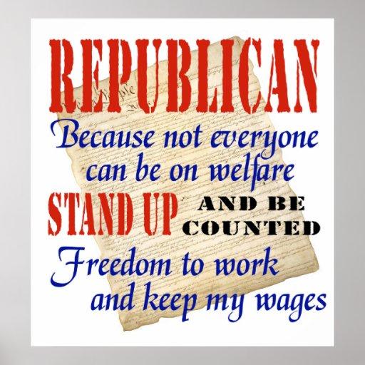 ¡Los republicanos se levantan! Poster