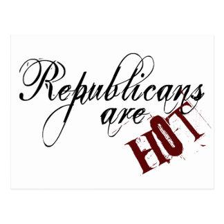 Los republicanos son postal caliente