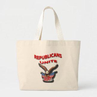 Los republicanos unen el rpr rojo bolsas