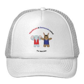 Los republicanos y Demócratas unieron el gorra