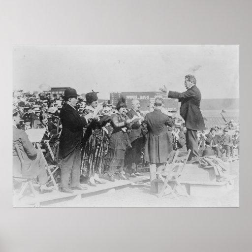 Los réquiemes de Verdi Nueva York 1916 NY Póster