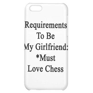Los requisitos de ser mi novia deben amar ajedrez