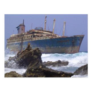 Los restos de las islas Canarias americanas de la Postal