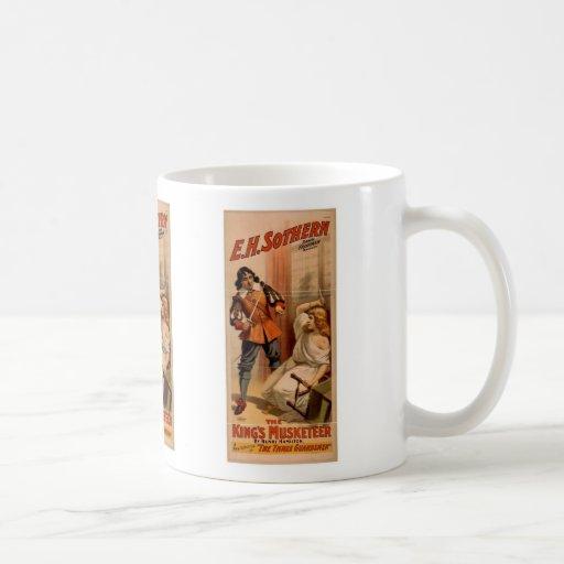 """Los reyes Musketeer, vintage """"de los tres soldados Taza"""