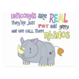 los rhinos son apenas postal fea de los unicornios
