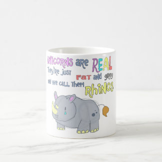 los rhinos son apenas taza fea de los unicornios