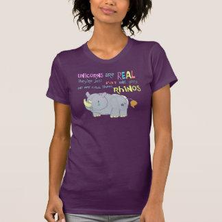 los rhinos son apenas unicornios feos camisetas